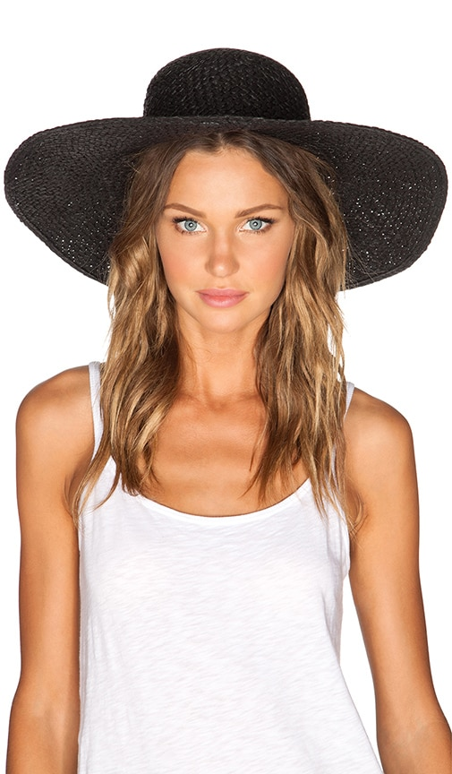 Cheap Monday Summer Straw Hat in Black
