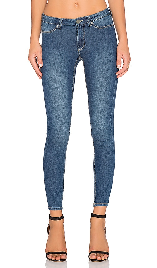 Cheap Monday Mid Spray Jean in Mid Blue