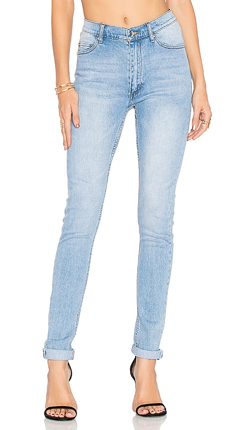 Cheap Monday Second Skin Skinny Jean in Stonewash Blue