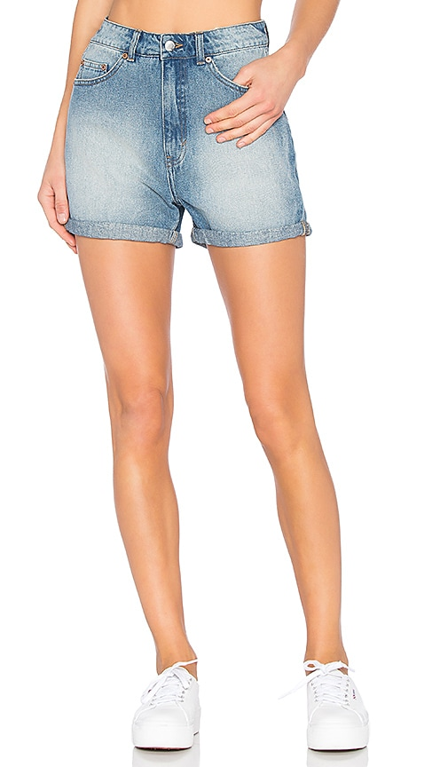 Cheap Monday Donna Shorts in Rush Blue