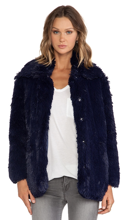 Furious Faux Fur Jacket
