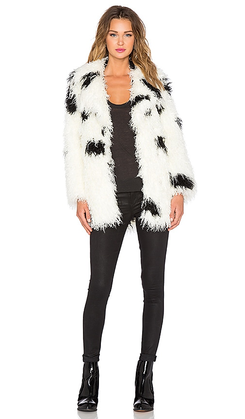 Faux Fur Curl Jacket