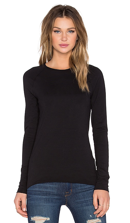 Cheap Monday Luv Long Sleeve Top in Black