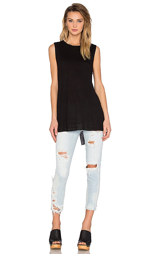 Cheap Monday Spin Tank in Black