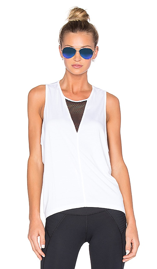 CHICHI Jade Muscle Tank in White