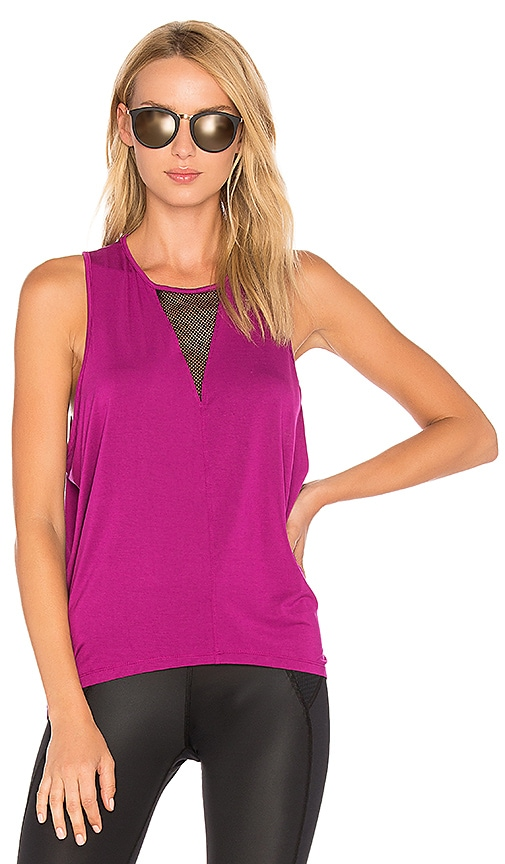 CHICHI Jade Muscle Tank in Fuchsia