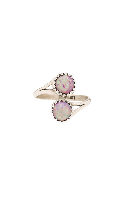 Child of Wild Solstice Ring in Pink Opal
