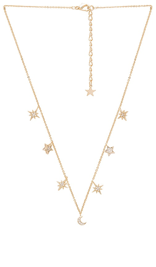 COLLAR CELESTIAL STARS AND MOONS