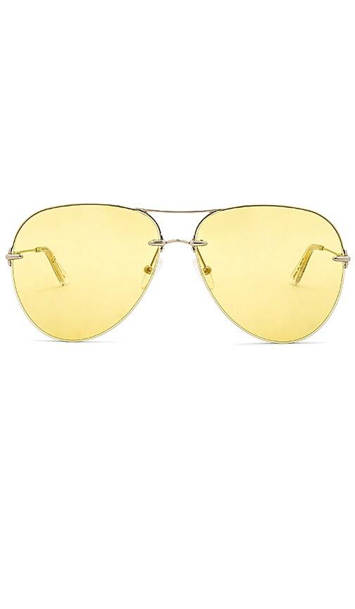 Christopher Kane Aviator Metal in Yellow