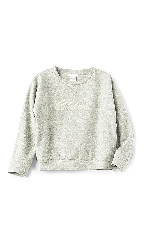 Kids Chloe Logo Sweatshirt