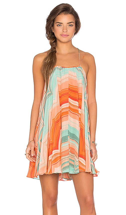 Chloe Oliver Tropicana Swing Dress in Paradise