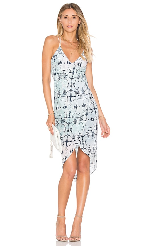 Chloe Oliver Open Sea Cruise Dress in Blue
