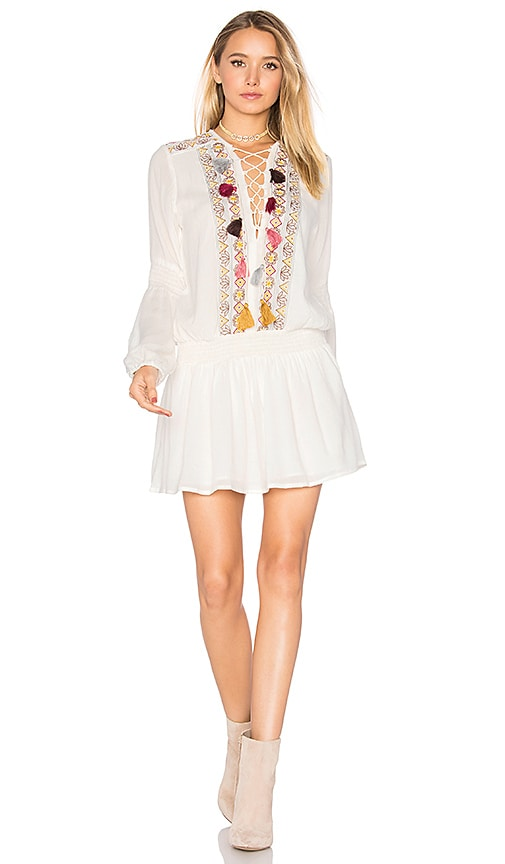 Chloe Oliver Winter Garden Dress in White