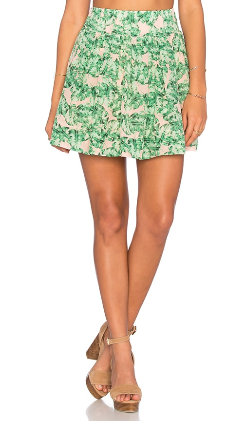 Chloe Oliver Country Club Babe Mini Skirt in Coco Cabana