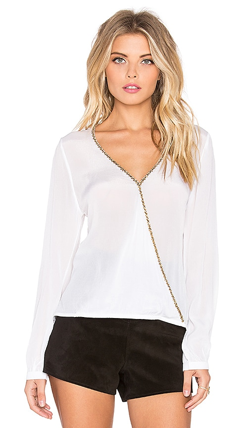 Chloe Oliver The A Fine Romance Top in Ivory