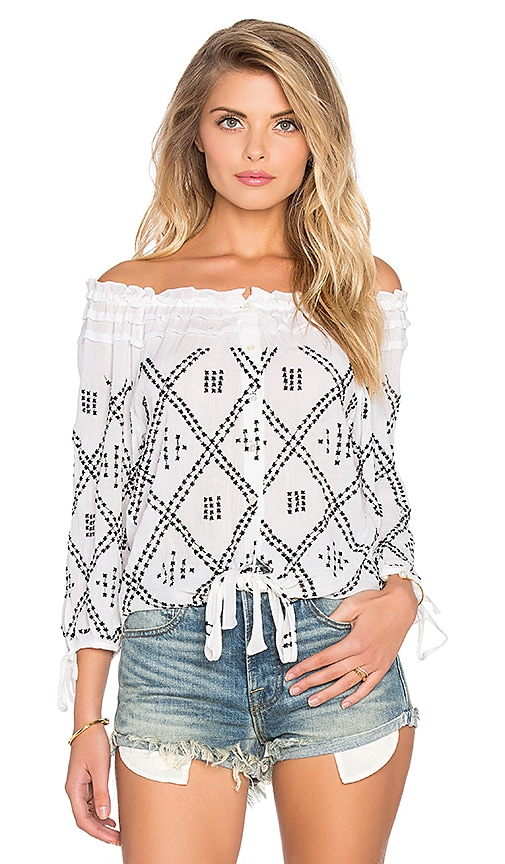 Chloe Oliver All My X's Top in White