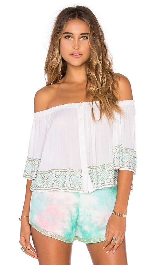 Chloe Oliver Day Break Top in White