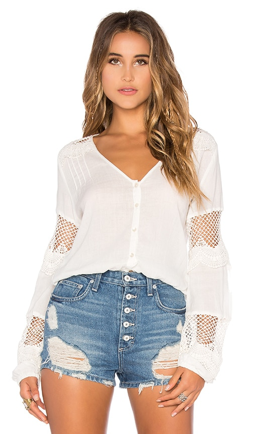 Chloe Oliver My Fair Lady Blouse in White