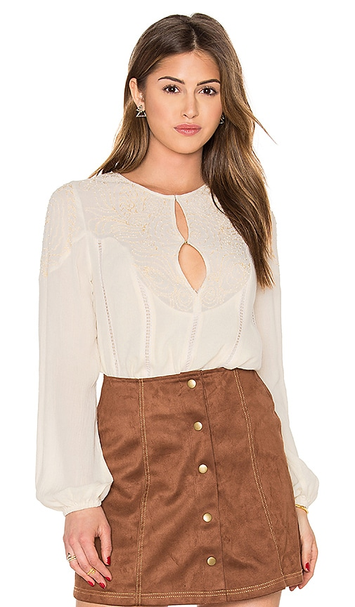 Chloe Oliver Mohave Desert Top in Cream