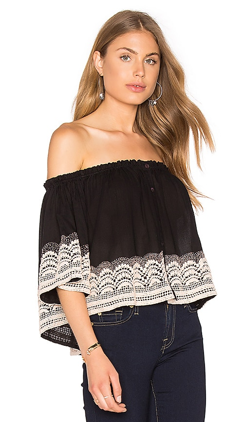 Chloe Oliver Brazilian Night Top in Black