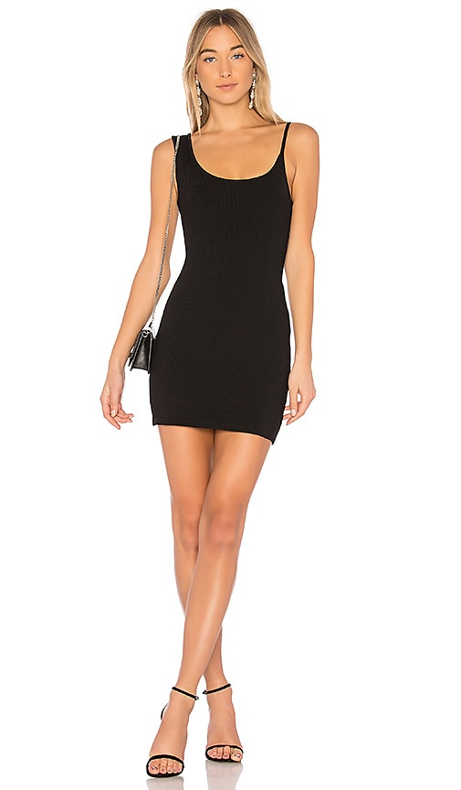 Christopher Esber X REVOLVE Icon Singlet Tank Mini Dress in Black