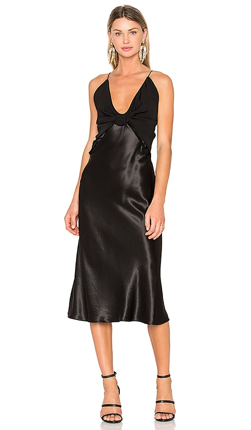Christopher Esber Dune Knotted Dress in Black