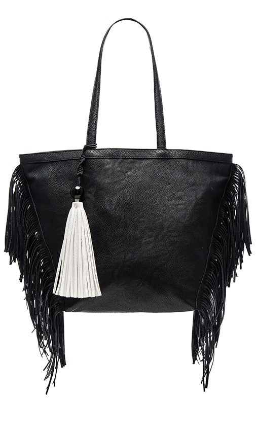 Circus by Sam Edelman Weston Tote Bag in Black & White