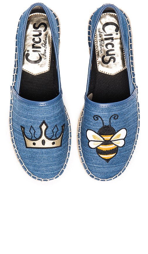 Circus by Sam Edelman Leni 6 Espadrille in Mid Blue