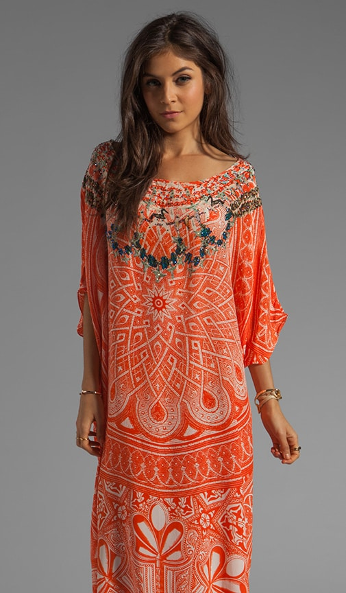 Road to Nowhere Round Neck Kaftan