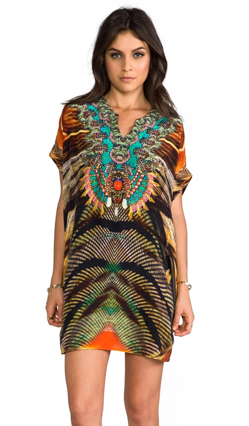 Animism V-neck Balloon Kaftan
