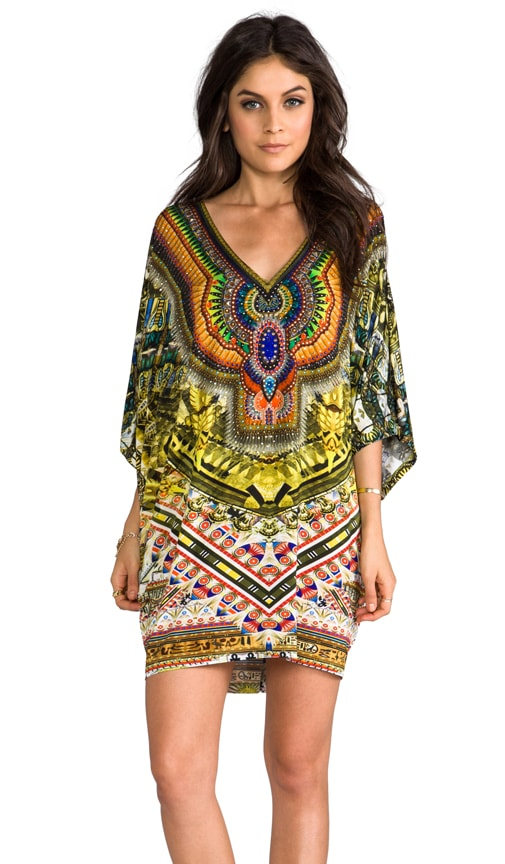 Sands of Egypt Bat Sleeve Dress
