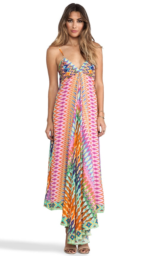 Loom Lovers Triangle Top Maxi Dress