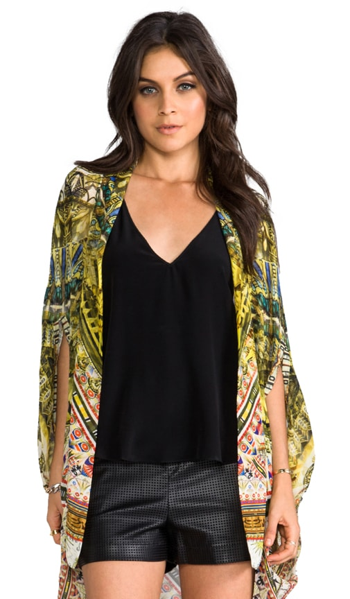 Sands of Egypt Open Front Cardi Cape