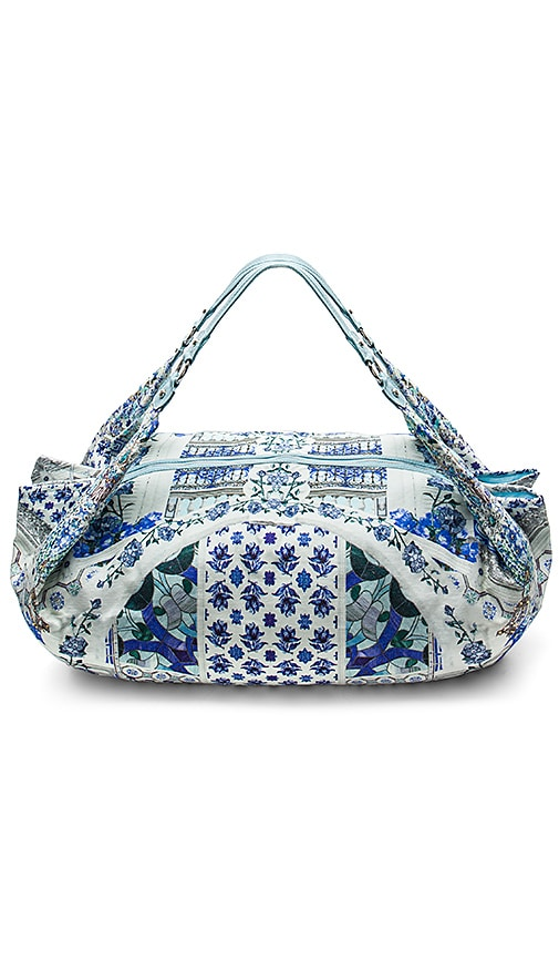 Camilla Soft Beach Bag in Blue