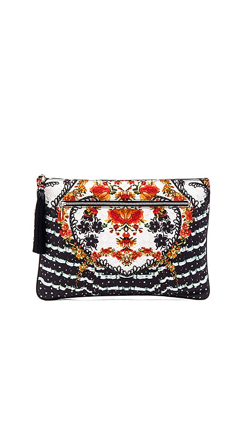 Large Canvas Clutch