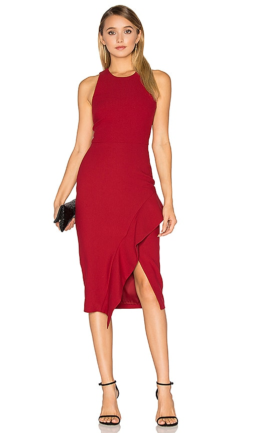 Cinq a Sept Piper Dress in Red