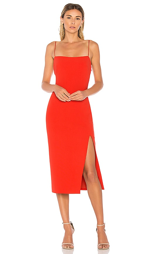 Cinq a Sept Cairen Dress in Red