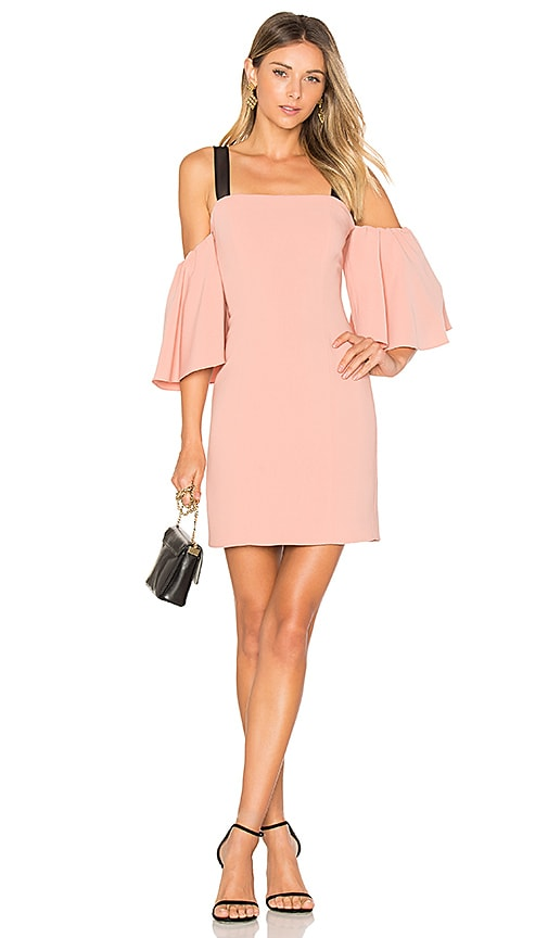 Cinq a Sept Monroe Dress in Peach
