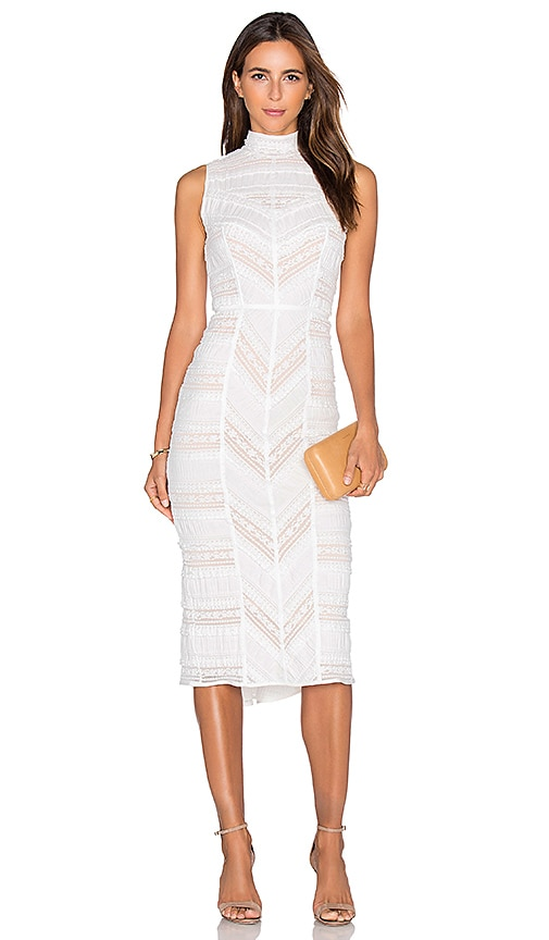 Cinq a Sept Nile Dress in Ivory