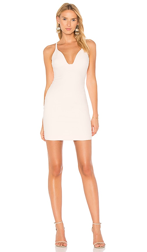 Cinq a Sept Ara Mini Dress in Pink
