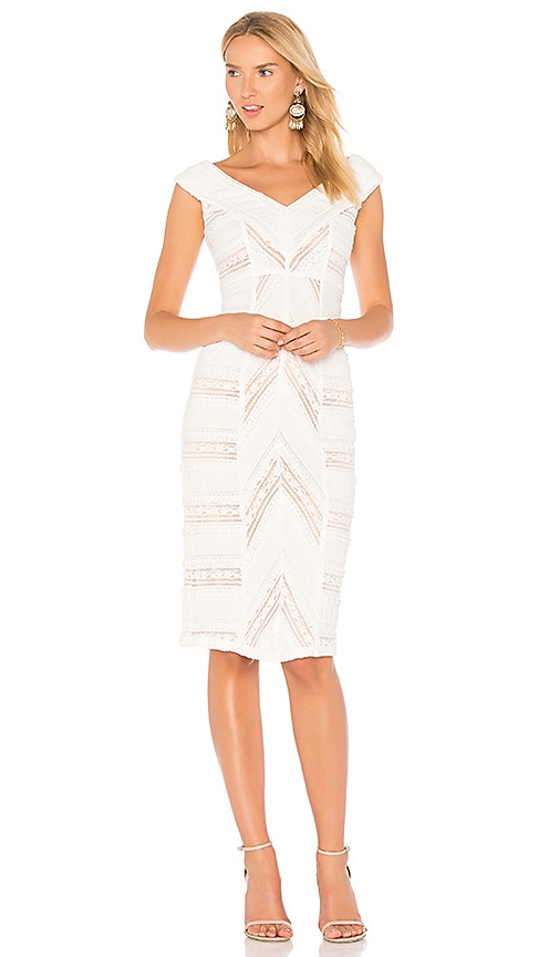 Cinq a Sept Aveline Dress in White