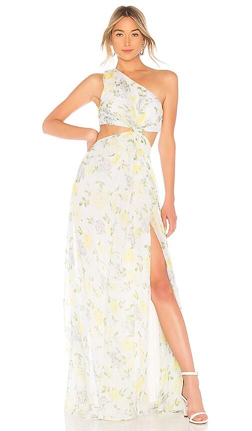 Cinq a Sept Gardenia Goldie Dress in Sage