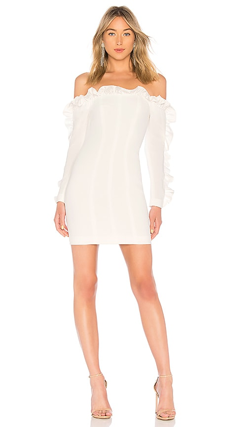 Cinq a Sept Rosemarie Dress in White