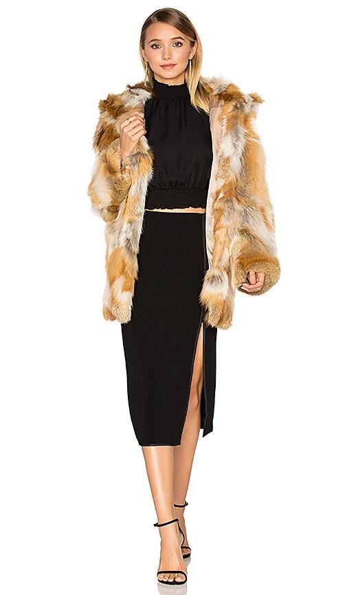 Windsor Fox Fur Coat