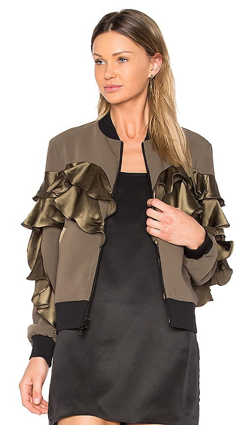 Cinq a Sept Leia Jacket in Army