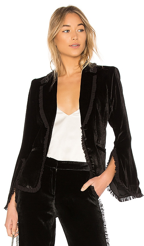 Cinq a Sept Rowland Jacket in Black