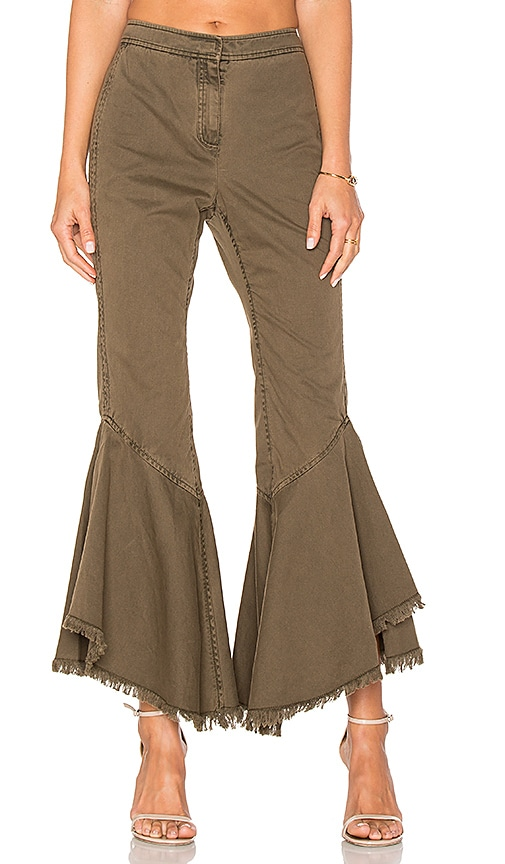Cinq a Sept Wysteria Pant in Green