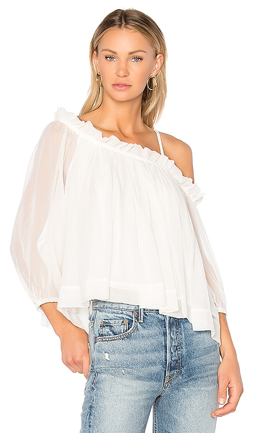 Cinq a Sept Colette Top in Ivory