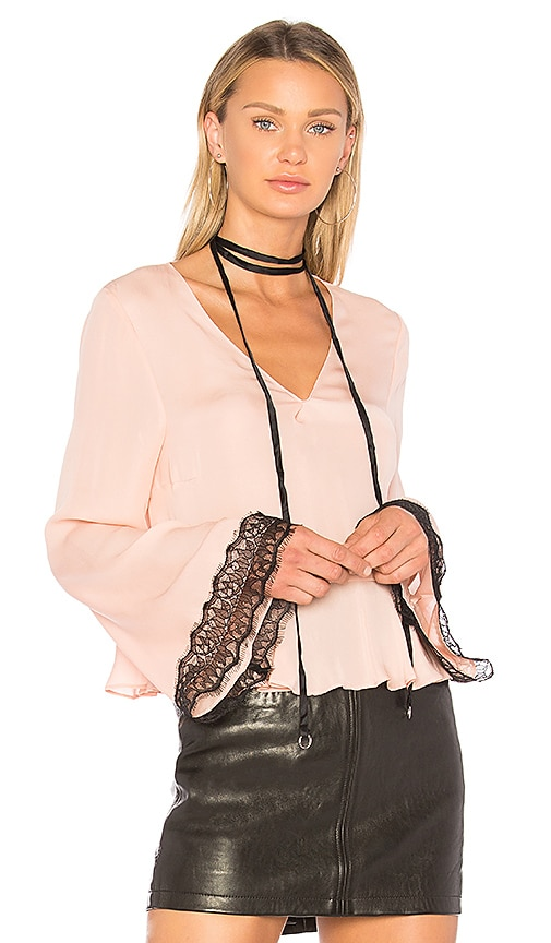Cinq a Sept Jemma Top in Pink