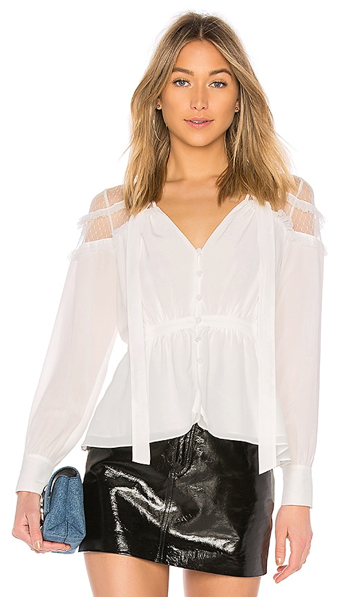 Cinq a Sept Peyton Top in White